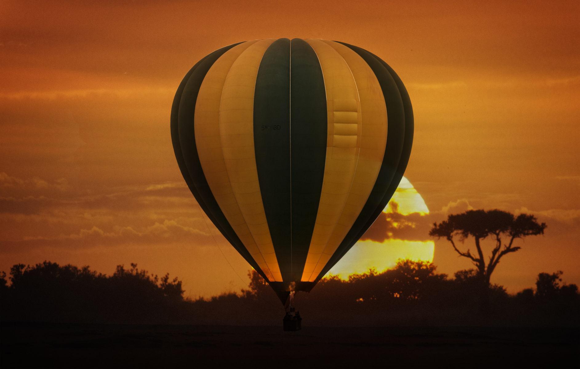 кения воздушный шар