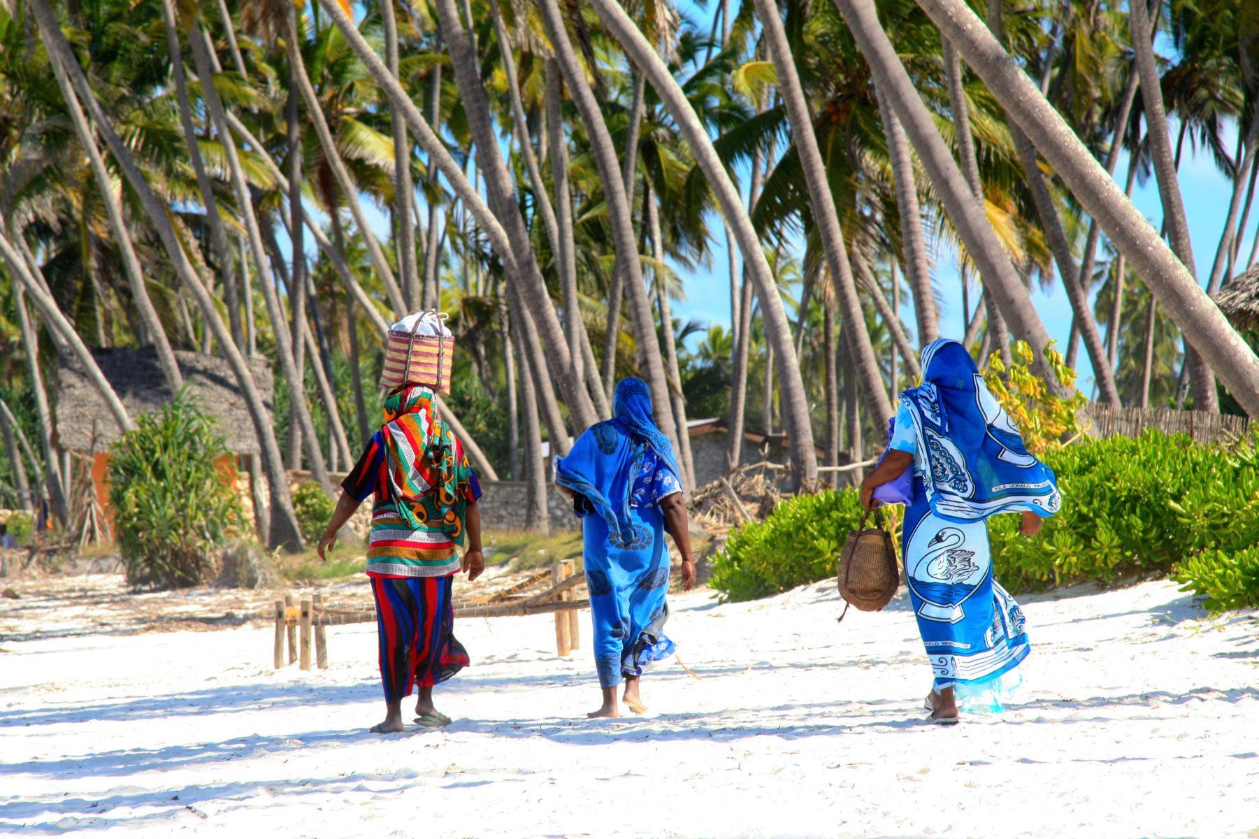 танзания занзибар пляжный отдых