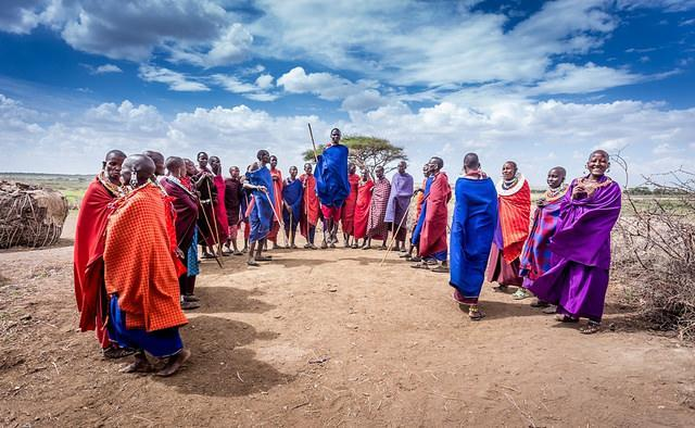 masai warrior dance africa