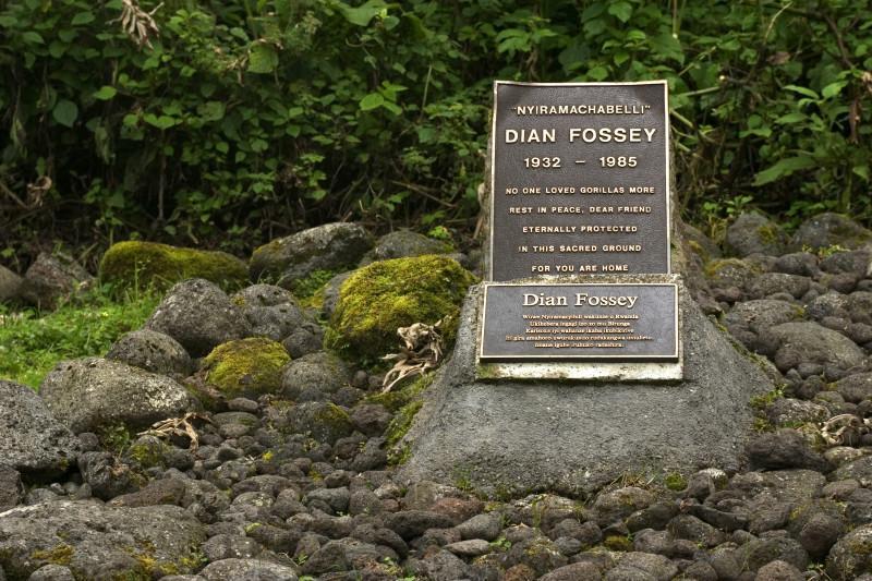 Dian Fossey's Grave