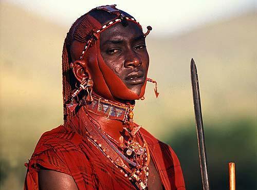 masai warrior maasai