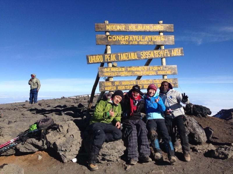 Uhuru Peak Kilimanjaro