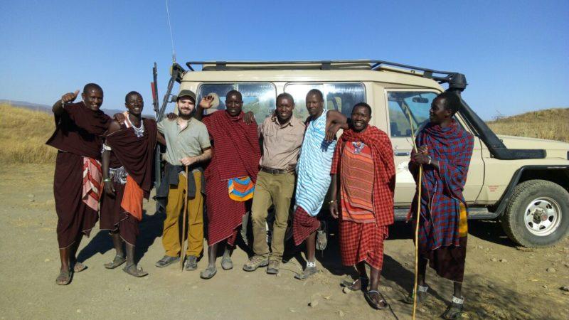 Meeting Masai in Ngorongoro Conservation Area