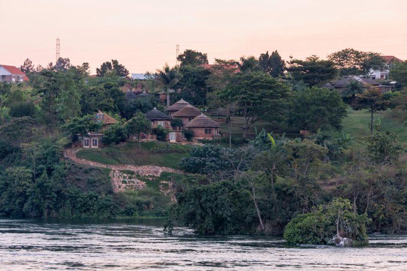Victoria Nile River valley, Jinja, Uganda