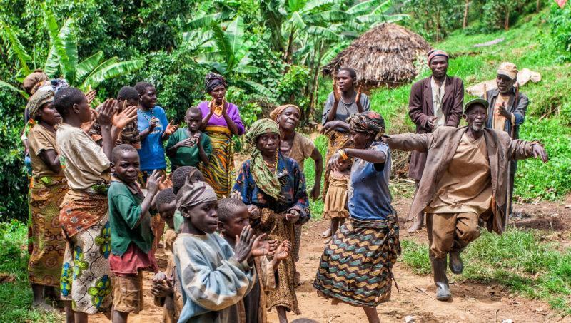 Batwa pygmies Uganda tribes