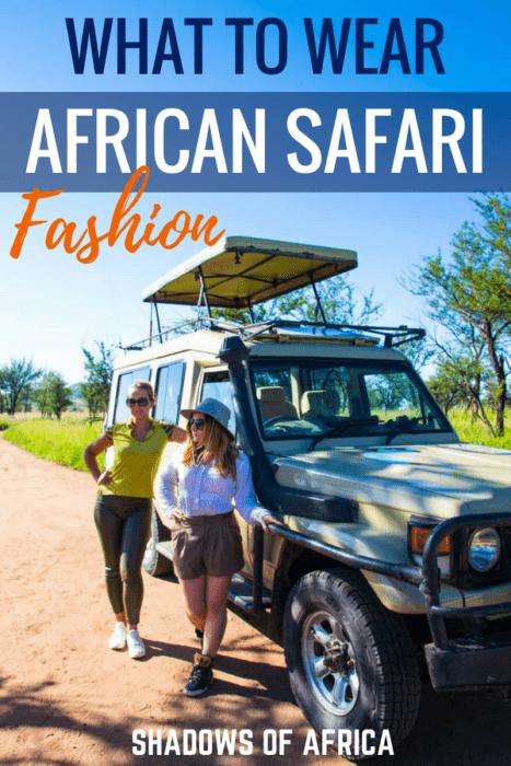 Don't know what to wear on safari? We've got the ultimate safari packing list. Here's what to wear in Tanzania, Kenya, Uganda and Rwanda! #fashion #safari #packinglist #tanzania #travel #whattowear