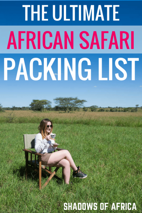 Not sure what to pack for your African safari? We've got the ultimate safari packing list! #tanzania #safari #africa #packinglist