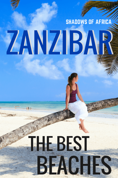 Don't know where to stay in Zanzibar? Here's a guide to Zanzibar's best beaches! Be sure to have a beach vacation on your Tanzania safari trip! #Zanzibar #beach #travel #beachvacation #Tanzania #Africa