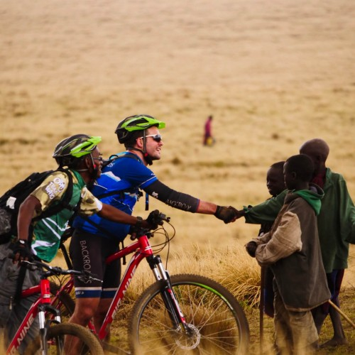 Mountain biking safari in Tanzania