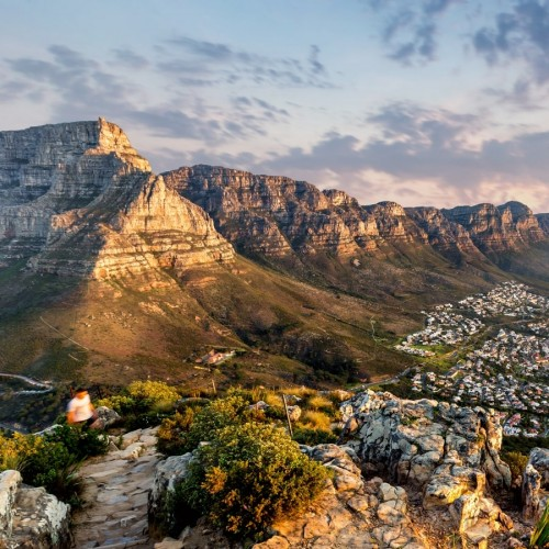 Table mountain, the South African icon