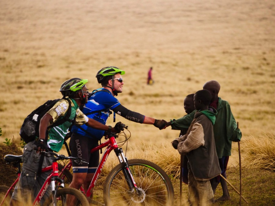 Mountain biking safari