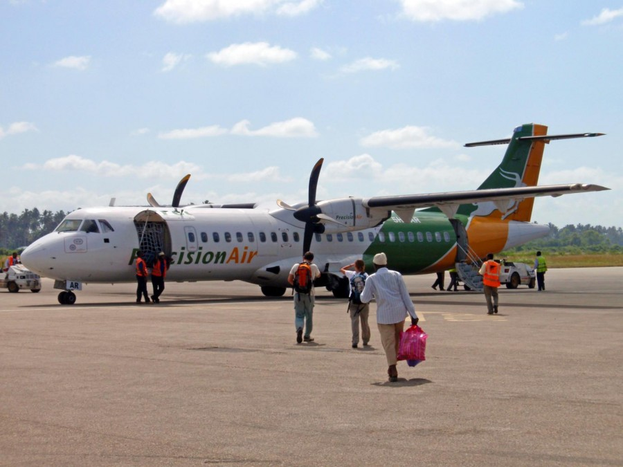 Letališča v Tanzaniji