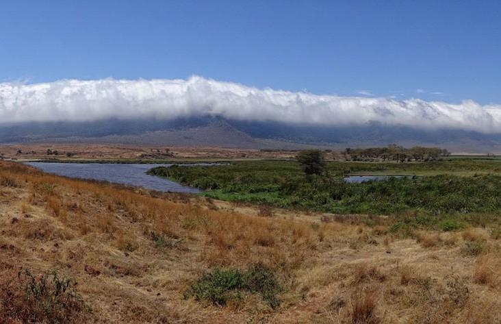 Кратер Эмпакаи - Горная местность Кратера Нгоронгоро