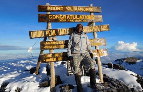 Amir, Climbing Instructor, Kilimanjaro