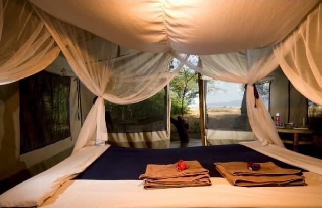 Lake Natron Tented Camp -safari to africa accommodation