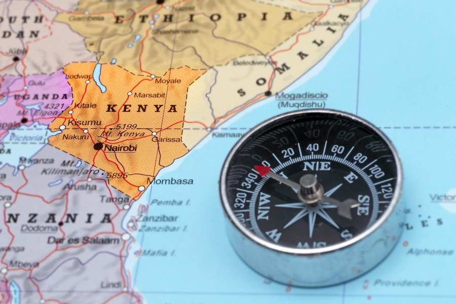 Maps of Kenya