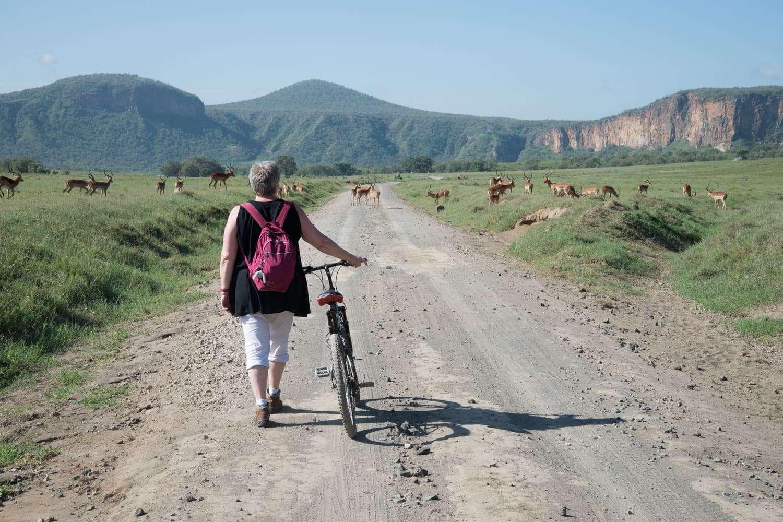 Hells Gate Kenya Cycling