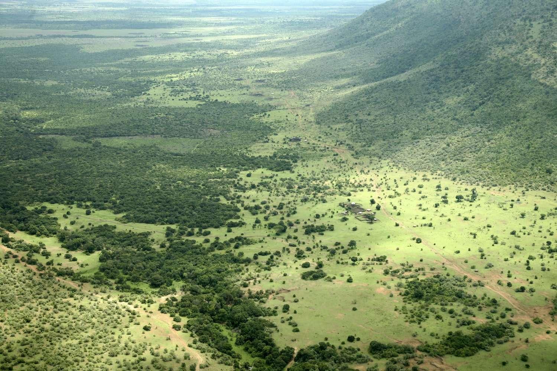Kenya Masai Mara Aerial