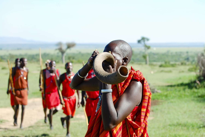 Kenya Masai Mara people