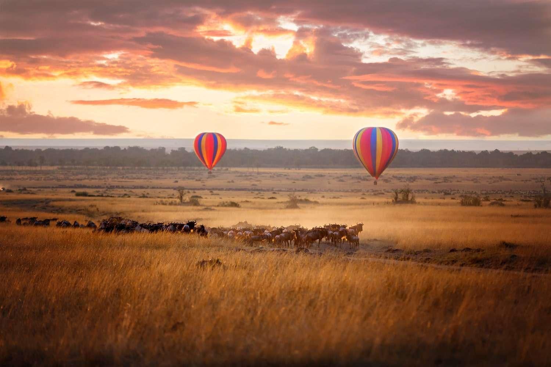 Kenya Masai Mara Balloon