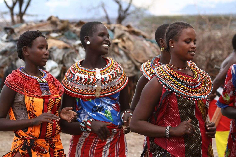Kenya Samburu people