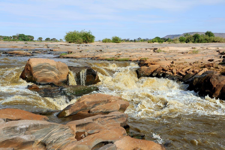Kenya Tsavo East The Lugard Falls