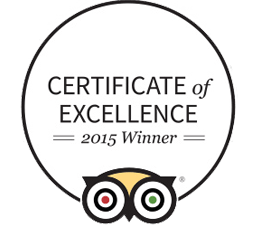 Certificate of excellence Trip Advisor Shadows Of Africa