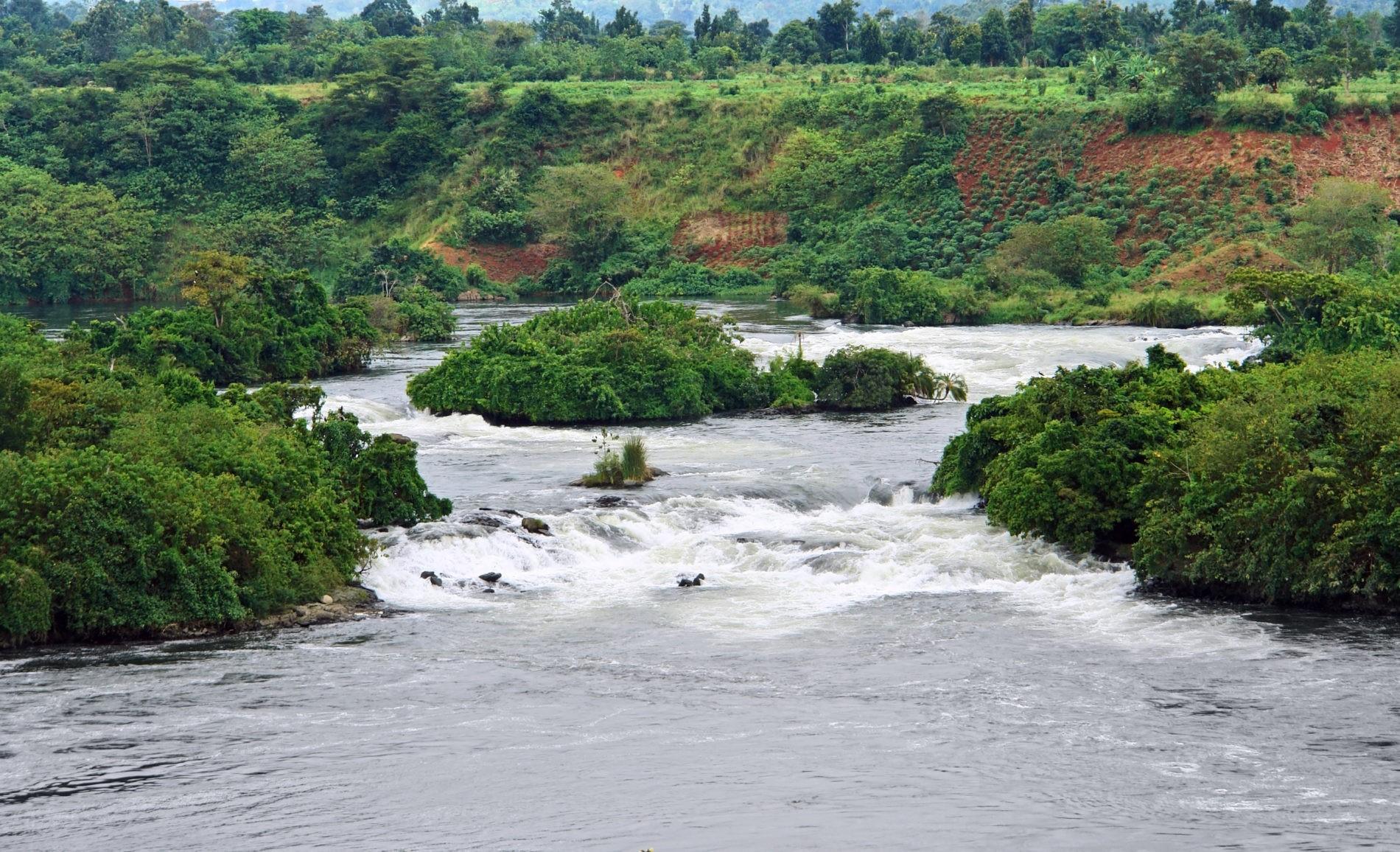 река Нил Уганда