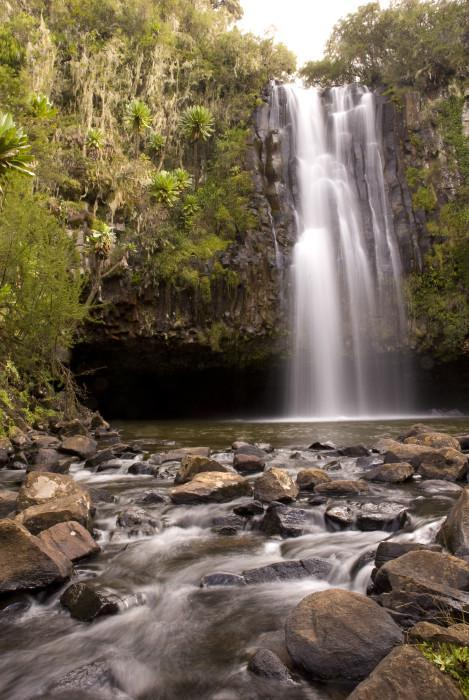 Waterfall in Aberdares national park