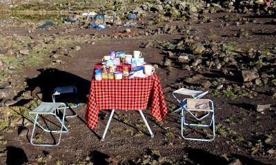 romantic picnic kilimanjaro