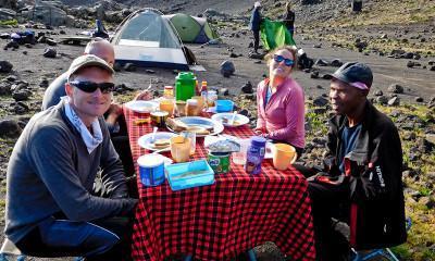 breakfast on kilimanjaro 3