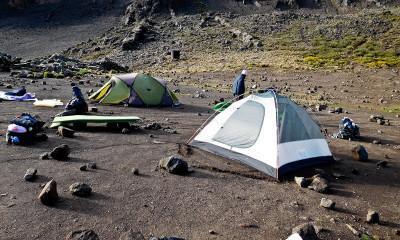 camping on kilimanjaro 2