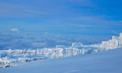 ice kilimanjaro snow