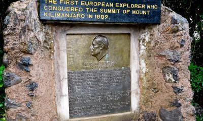 kilimanjaro memorial first european climber