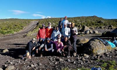 successful kilimanjaro climbers