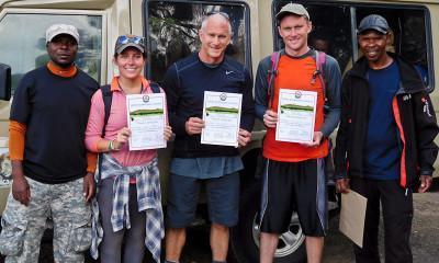 kilimanjaro certificates