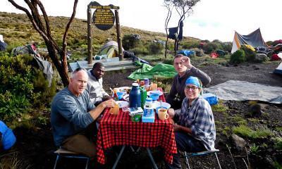 breakfast on kilimanjaro 2