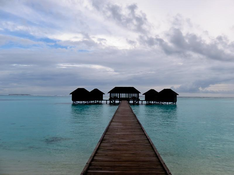 conrad maldives dock