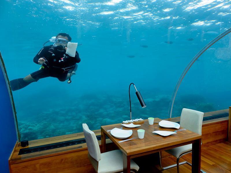 ithaa underwater restaurant conrad maldives 2