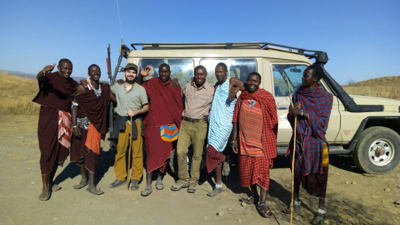 Meeting Masai in Ngorongoro Conservation Area