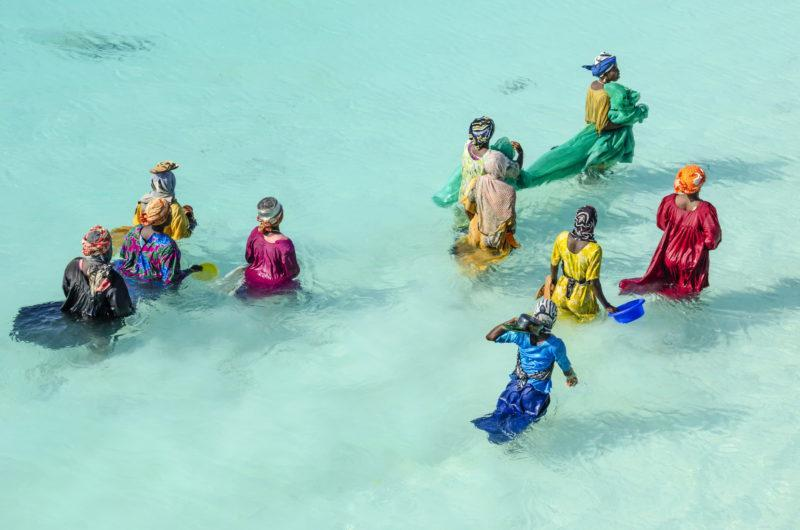 zanzibar beaches local women