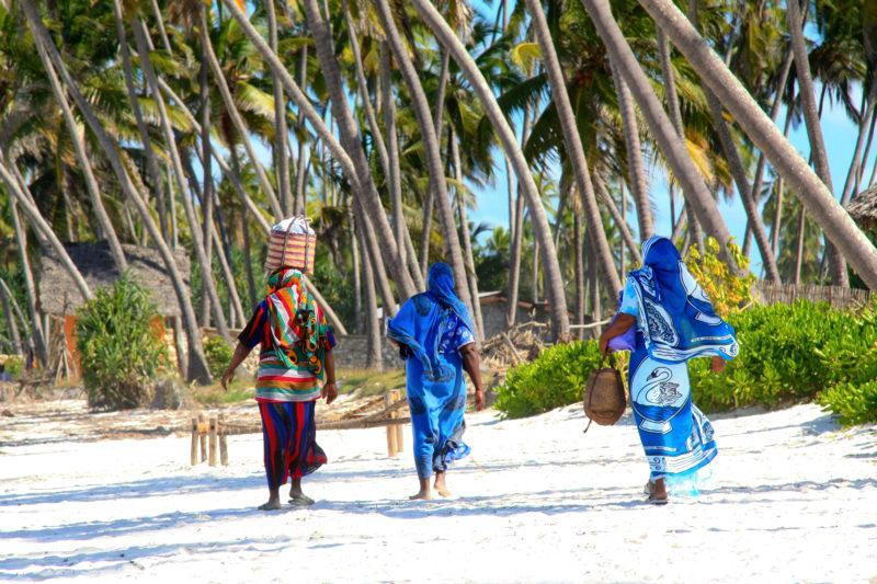 zanzibar beaches white sand local people