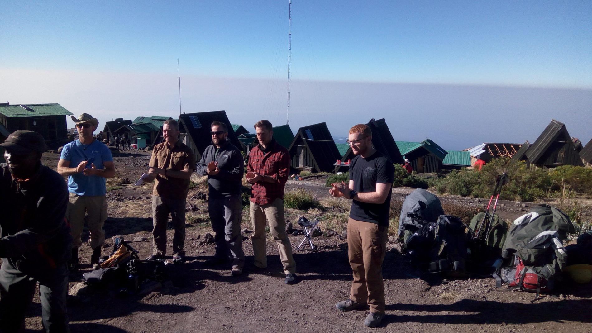 Kilimanjaro climb camp