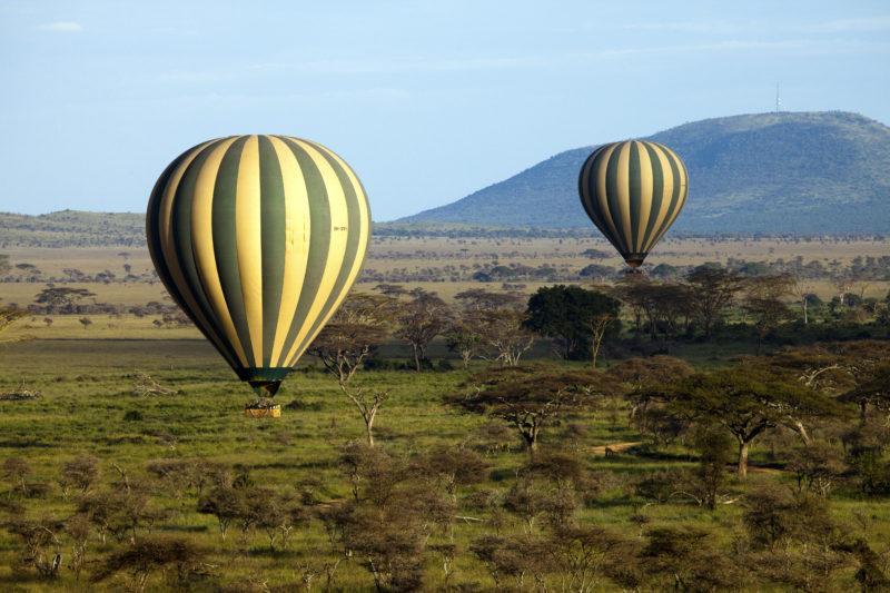 tanzania ballon safari africa