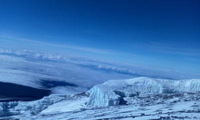 Snow on Kilimanjaro in October