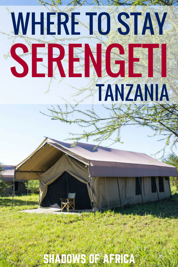 With so many lodges and camps on the Serengeti, it's hard to know where to stay. Here's our ultimate guide on where to stay during your Tanzania Serengeti safari trip! #serengeti #safari #tanzania #africa #travel