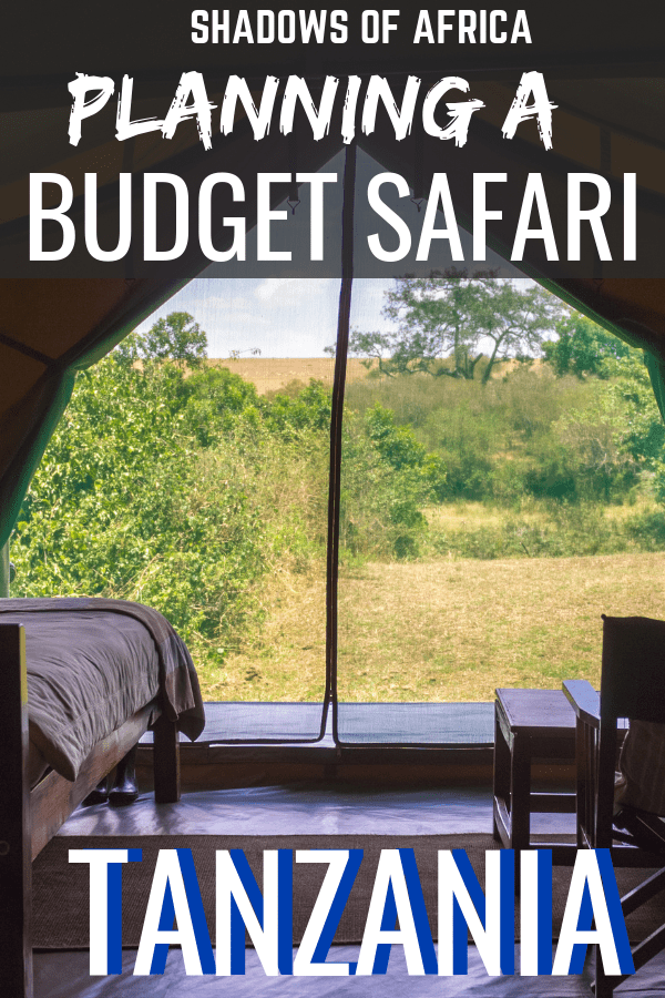 Are you planning a budget safari in Tanzania? Here's how you can plan a Tanzanian budget safari to the Serengeti without breaking the bank! From a camping safari to group safaris to low season safaris, here's how to have a cheap safari adventure in Africa! #budget #safari #Tanzania #travel #serengeti #africa