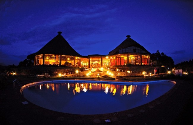 Ngorongoro-Sopa-Lodge_lodge_by_night