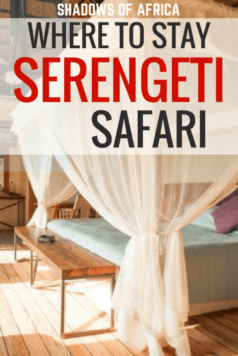 Are you planning a Serengeti safari in Tanzania? Here are the best places to stay for your Serengeti safari on any budget. From luxury to budget and everything in between, here are the best lodges, camps, and hotels in the Serengeti. #Serengeti #safari #Tanzania #Africa #travel #hotels