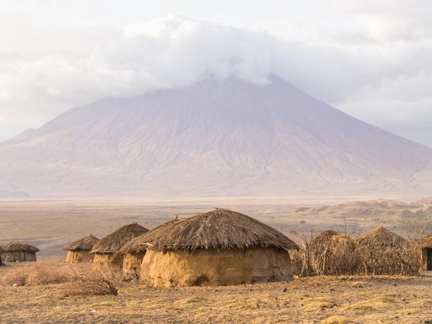 Ol Donyo Lengai volcano